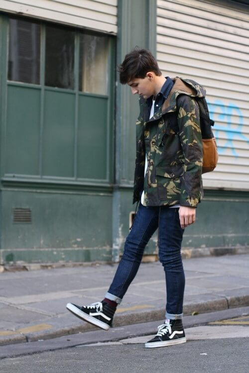 8a541a111a67 These images prove that Sk8 His don t only have to be worn in standard  streetwear outfits. They can be used across multiple aesthetics and can be  paired ...