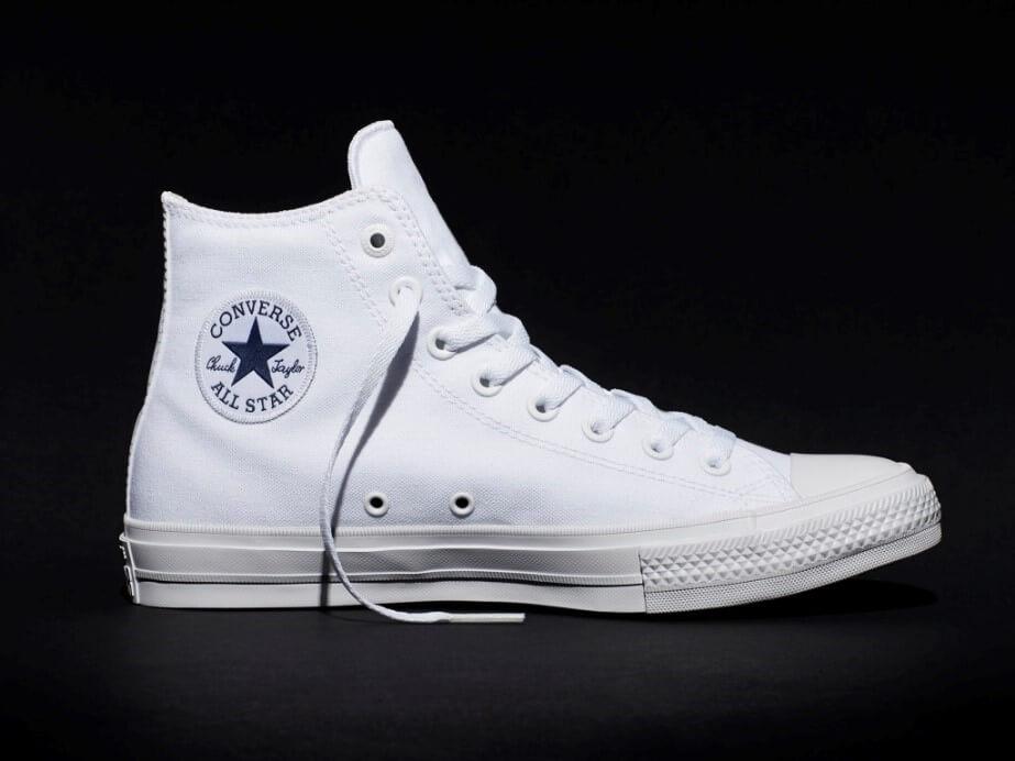 converse chuck 2 white sneaker