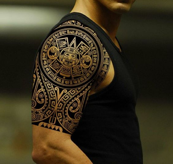 ancient maori tattoo