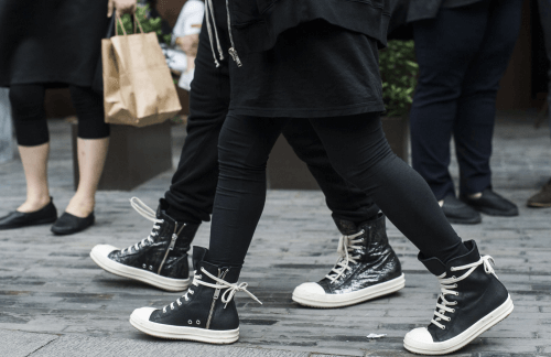 the beginner s guide to rick owens sneakers
