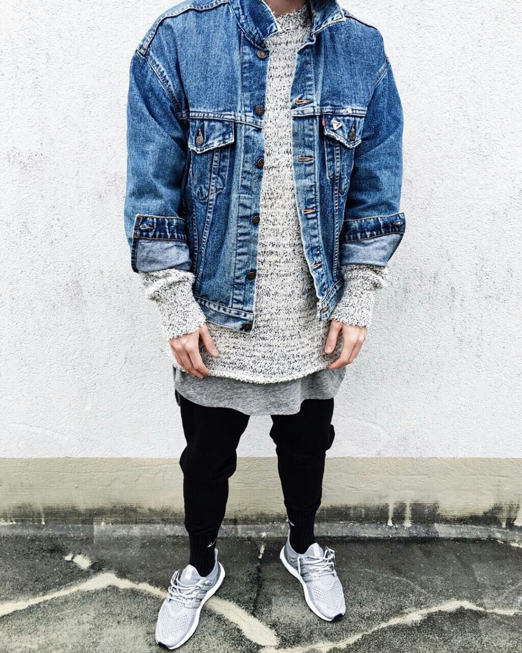 ae148f73c7 tumblr o0ykniCLNU1uceufyo1 1280. A warm and cozy streetwear inspired outfit  with a denim ...