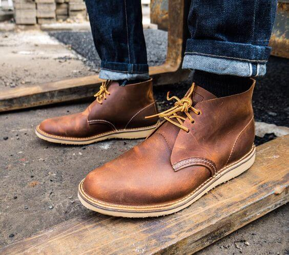 e8721567eea The Chukka Boots.     Red Wing Heritage – Men s Weekender Chukka