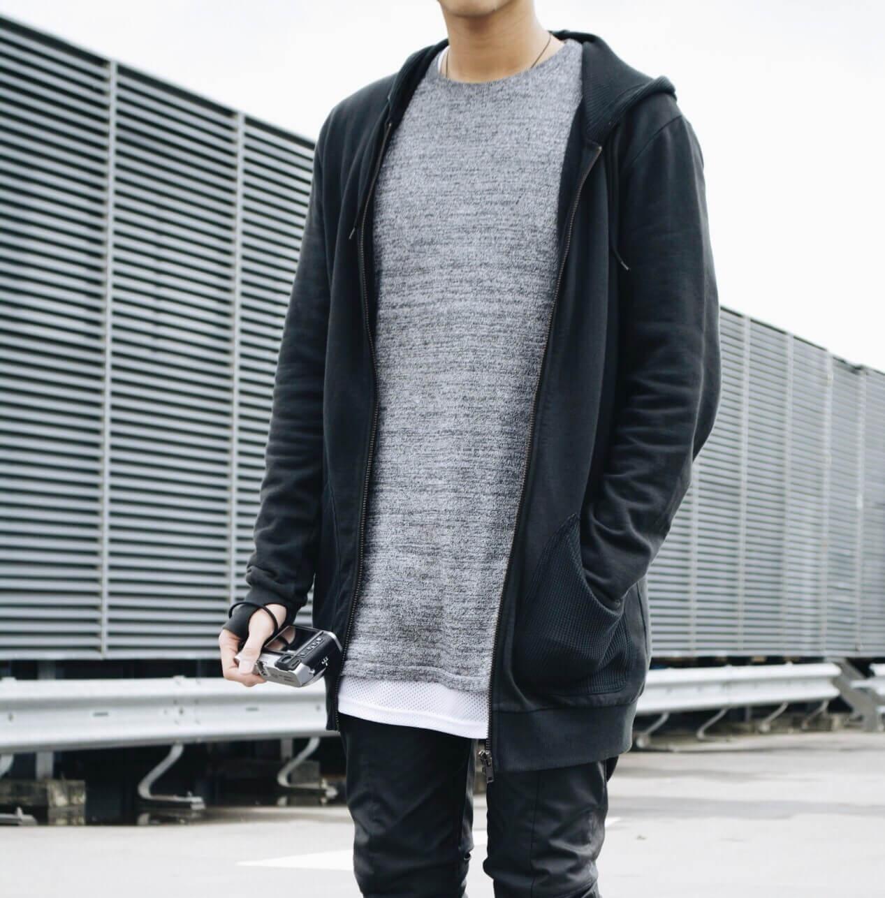 layering hoodie