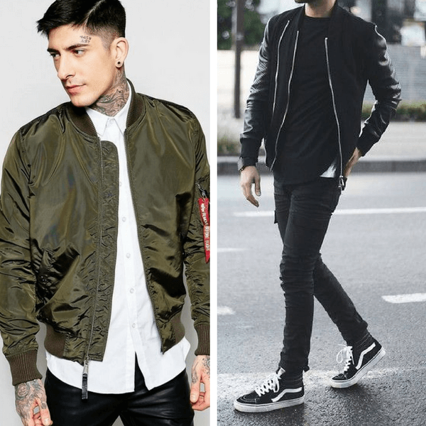 mens-layering-bomber-jackets
