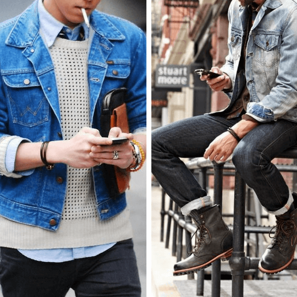 mens-layering-denim-jacket