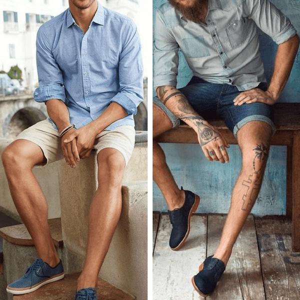 European summer fashion Mens