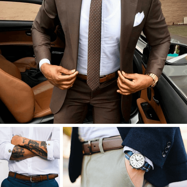 Men S Belts Guide Ways To Wear Belts For Men