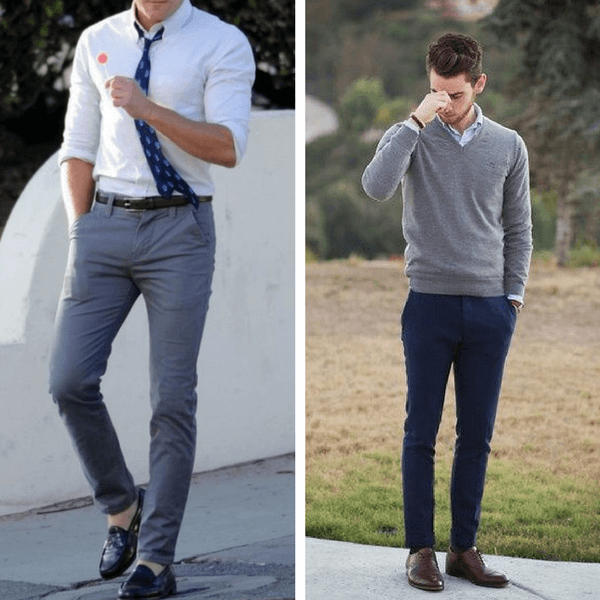 Jeans And A Dress Shirt Shoes