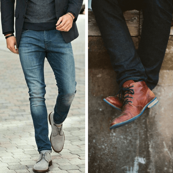 smart casual boots jeans
