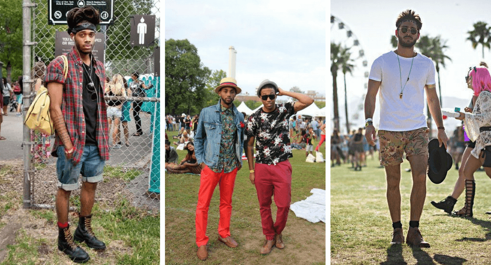 what to wear to a music festival for guys