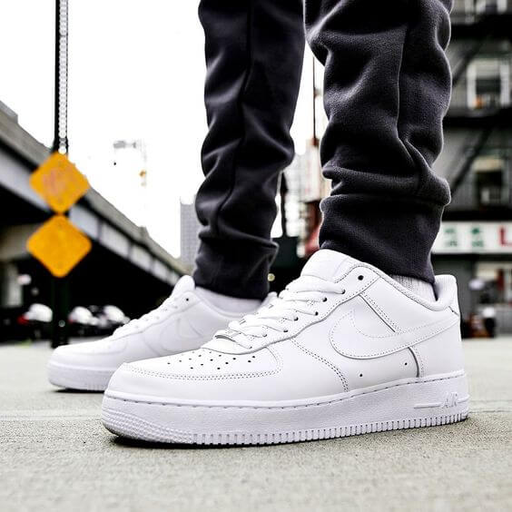 Ways To Wear White Air Force 1s