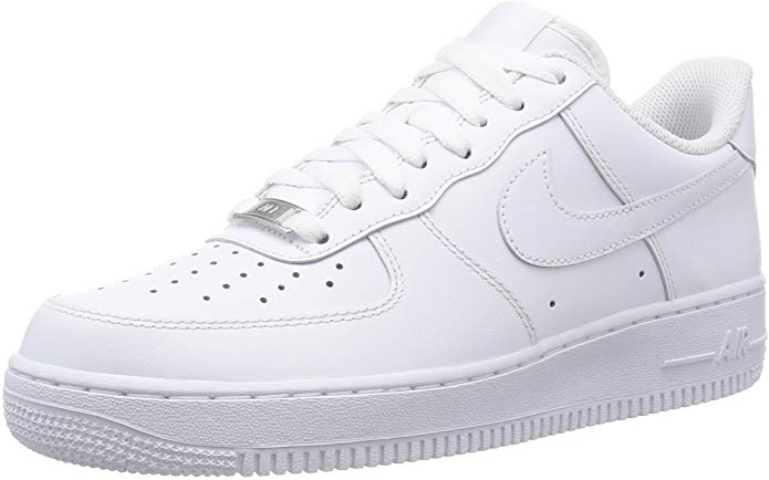 nike air force white low top