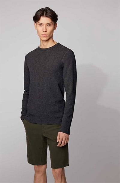 Hugo Boss Slim-Fit Longsleeve T-Shirt